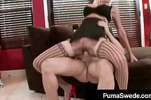 Blonde Euro Fit Puma Swede Bangs Dude &amp_ Gets Milky Surprise!