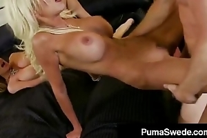 Euro Porn Queen Puma Swede &amp_ Kelly Madison Blow KM'_s Hubby!