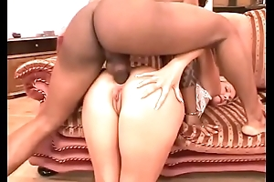 Two unleashed white sluts banged in the ass by a black stallion