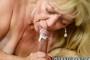 Tongued cougars mouthful