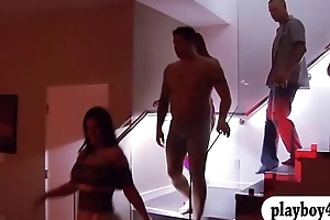 Horny couples ugly orgy with swingers