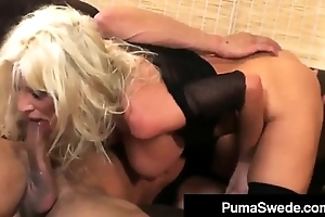 Sweden'_s #1 PornStar Puma Swede Gets Pounded By A Hard Cock!
