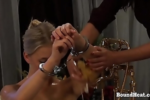 Disappeared On Arrival 2: Babe In Handcuffs Ready For Madame