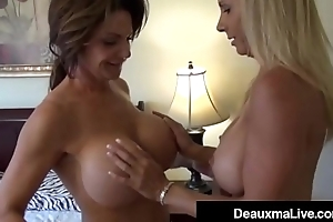 Horny Milf Deauxma &amp_ Brooke Tyler Pussy Pleasure Each Other!