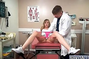 Hardcore Sex D'nouement Doctor And Hot Sluty Patient (Jillian Janson) vid-10