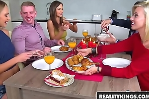 RealityKings - Sneaky Sex - Learn of For Dinner