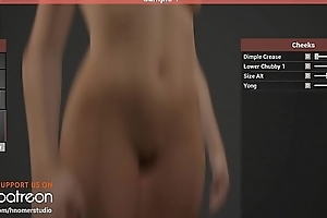 Busty DeepThroat 2 Adult Game on Unreal Engine 4 - Costumization - [WIP]