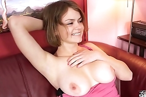 Busty sexual tornado show to fake agent how to fuck