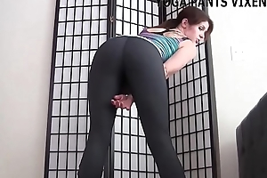These yoga pants leave nothing to the imagination JOI