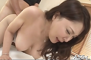 Asian fur pie and anal fuck